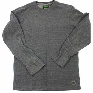 Timberland Waffle Long Sleeved Pullover Sweater